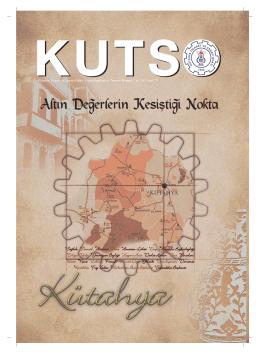 kutso dergi sayı 177 - Kütahya Ticaret ve Sanayi Odası