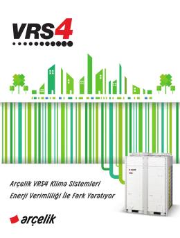 Arçelik VRS4 Klima Sistemleri Enerji Verimliliği le Fark Yaratıyor