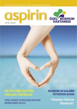 Aspirin • Yaz 2014 | 1 - Özel Bodrum Hastanesi