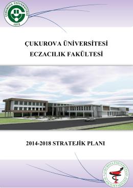 Eczacılık Fakültesi 2014-2018 Stratejik Planı