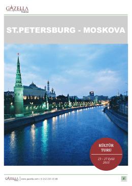 ST.PETERSBURG - MOSKOVA