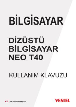 DİZÜSTÜ BİLGİSAYAR NEO T40