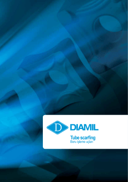 DIAMIL Tube scarfing