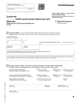 KG 1 Anlage Kind (Türkisch)