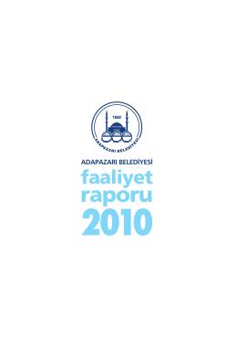 2010 Faaliyet Raporu.indd