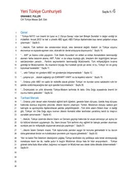 50 Yeni Türkiye Cumhuriyeti, Graham FULLER