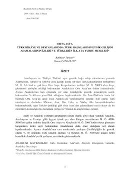 Bu PDF dosyasını indir - akademik tarih ve dusunce dergisi