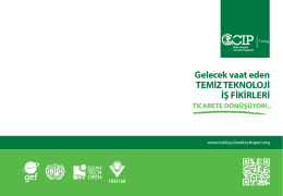 GCIP Booklet_SC_kucuk - Turkey Cleantech Open Accelerator
