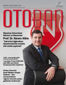 Otoban Dergisi | Sayı 58 Mart 201408.05.2014