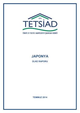 Japonya Ev Tekstili Sektörü Raporu