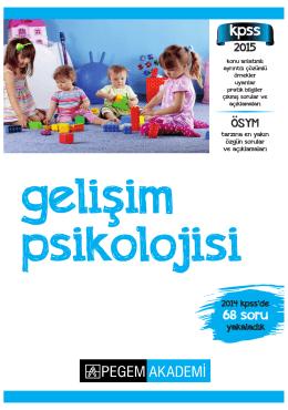 4. Gelişim Psikolojisi 2015 - 304 sayfa