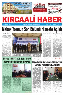 Sayı 218/2014 - Kırcaali Haber