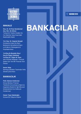 25.06.2014 Bankacılar Dergisi
