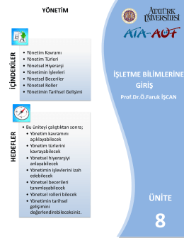 yönetim türleri - Ataturkuni.Com