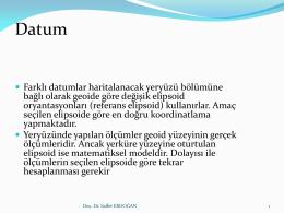 Datum - Saffet Erdoğan