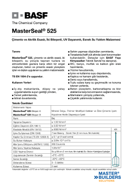 MasterSeal® 525
