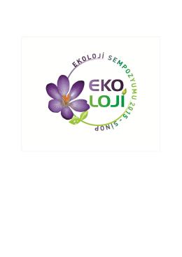 tıklayınız.. - Ekoloji 2015 Sinop Üniversitesi