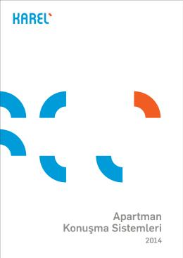 Apartman Konuşma Sistemleri- Katalog 2014