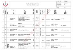 2014 yılı eğitim planı - fatih devlet hastanesi