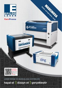 Epilog Fusion 711 x 1016 mm çalışma alanı 30