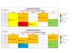 Ağız ve Diş Sağlığı - Dönem III Haftalık Ders Programı Ağız ve Diş