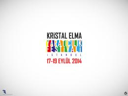 Sponsorluk Fırsatları - 26. Kristal Elma Yaratıcılık Festivali