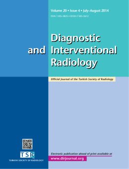 Diagnostic Interventional Radiology and