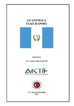 GUATEMALA Tanıtım Kitapçığı