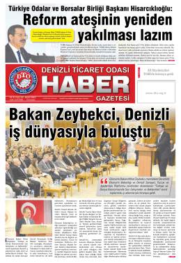 Gazetemiz - En Son Sayı - PDF