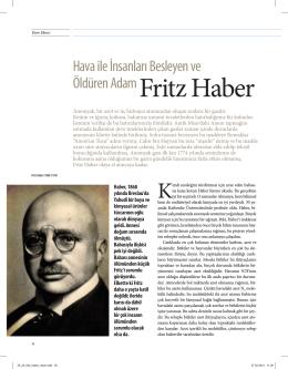 Hava ile İnsanları Besleyen Adam FritzHaber (Pdf.)