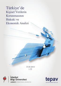 Turkiyede Kisisel Verilerin Korunmasinin Ekonomik ve