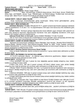 02.09.2014 Tarihli Karar