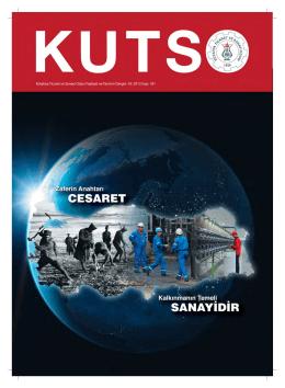 kutso dergi sayı 181 - Kütahya Ticaret ve Sanayi Odası
