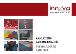 innova kaucuk katalogu YENI - İnnova Polimer Kimya.San.Tic.Ltd.Şti