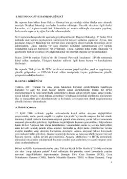 EPİM Ulusal Rapor-Gayriresmi Türkçe Tercüme