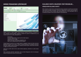 Retail - Mikro CRM - Mikro Yazılımevi
