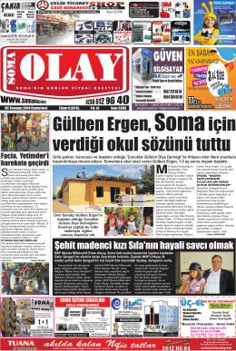 Gülben Ergen, Somaiçin verdiği okul sözünü tuttu