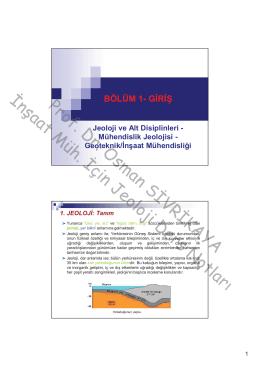 Geoteknik/İnşaat Mühendisliği