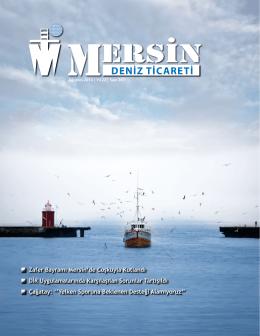 Deniz Ticareti Dergisi Ağustos 2014 Sayısı
