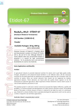 Etidot-67 - Eti Maden İşletmeleri