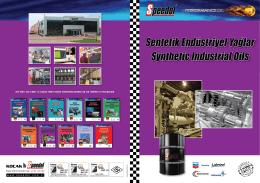 Sentetik ve Endüstriyel Yağlar Katalog İndir (PDF)
