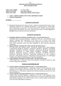 indir - Erzurum Büyükşehir Belediyesi