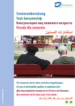 Seniorenberatung - Stadt Delmenhorst