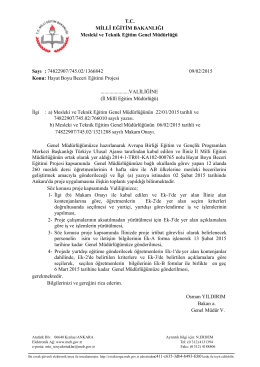 Java Printing - Hatay İl Milli Eğitim Müdürlüğü