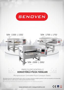 Konveyörlü Pizza Fırını Serisi