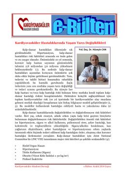 Kalp hastası olmak ne demek?: Dr. Hüseyin Can