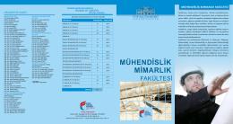 Mimarlık-Mühendislik Fakültesi.cdr