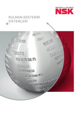 Rulman Gösterim Sistemleri (PDF - 4068.03 KB)