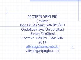Protein Feeds-10 eylül 2014