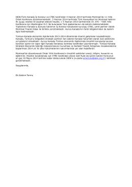 11. türk-kanada iş konseyi